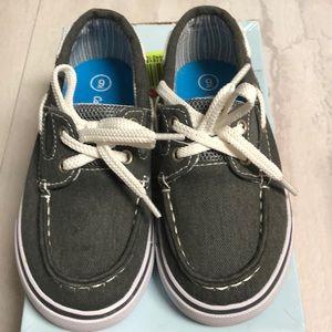 Little boy boat shoe toddler size 9